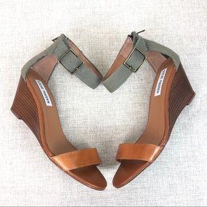 Steve Maden Nancy Wedge Sandals